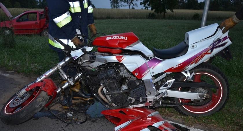 W Borowie zginął młody motocyklista